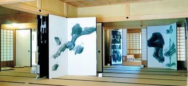 中山道鵜沼宿脇本陣アート展「水をおもう」遠藤泉女 展(各務原市)