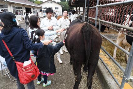 市民でにぎわう相原高校の文化祭「相陵祭」(2016年10月30日撮影)